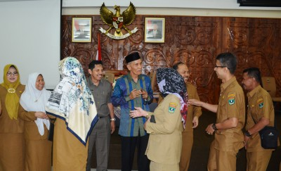 Halal Bi Halal Keluarga Besar Bappeda Provinsi Sumatera Barat