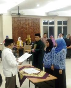 Bappeda Provinsi Sumatera Barat Lantik Pejabat Struktural dan Fungsional Perencana