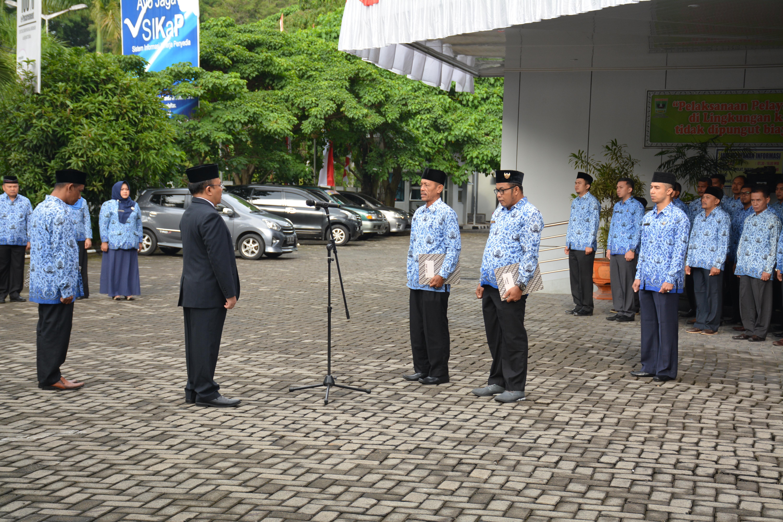 Upacara  Peringatan Hari Kemerdekaan RI ke 74 di Bappeda Provinsi Sumbar