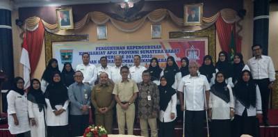Pengukuhan Kepengurusan AP2I Provinsi  Sumatera Barat