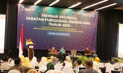 Jabatan Fungsional Perencana Berperan Strategis dalam Mendukung Pembangunan