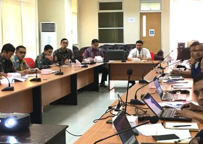 Tim PPRG Provinsi Adakan Pertemuan Dengan Kantor Staf Presiden  Terkait Pemanfaatan Aplikasi Pemantauan Kantor Staf Presiden